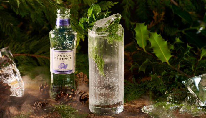 London Mezcal Week Alpine Forest non-alcoholic with bottle