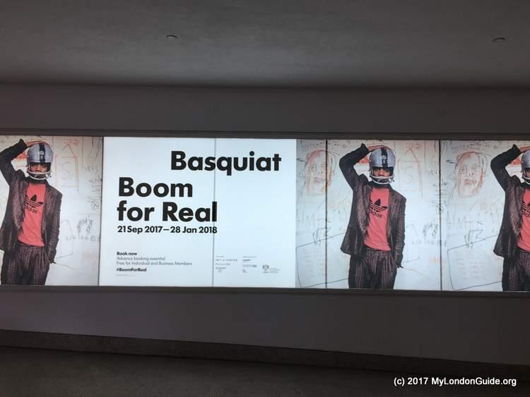Basquiat Exhibition Barbican Centre